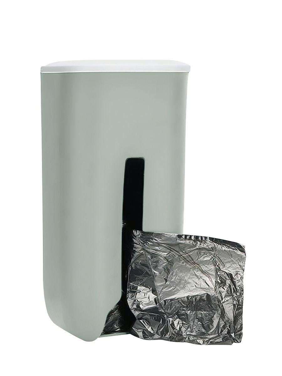 Подвесная корзина для компактного хранения пакетов, зеленый