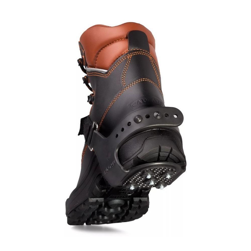 Ледоходы каблук 5+5 автомобильных шиповНакладки на обувь Антигололед<br>Приближается зима. А вместе с ней – не только праздники и подарки, но и холода, скользкие дороги и коварные падения. Как обеспечить себе максимум комфорта на улице?  Как не провести ползимы дома в с ногой в гипсе? Вам помогут ледоходы каблук 5+5 автомобильных шипов. Аксессуар фиксируется на любой обуви, а главное – позволяет вам чувствовать себя уверенно даже на сплошном льду!<br>