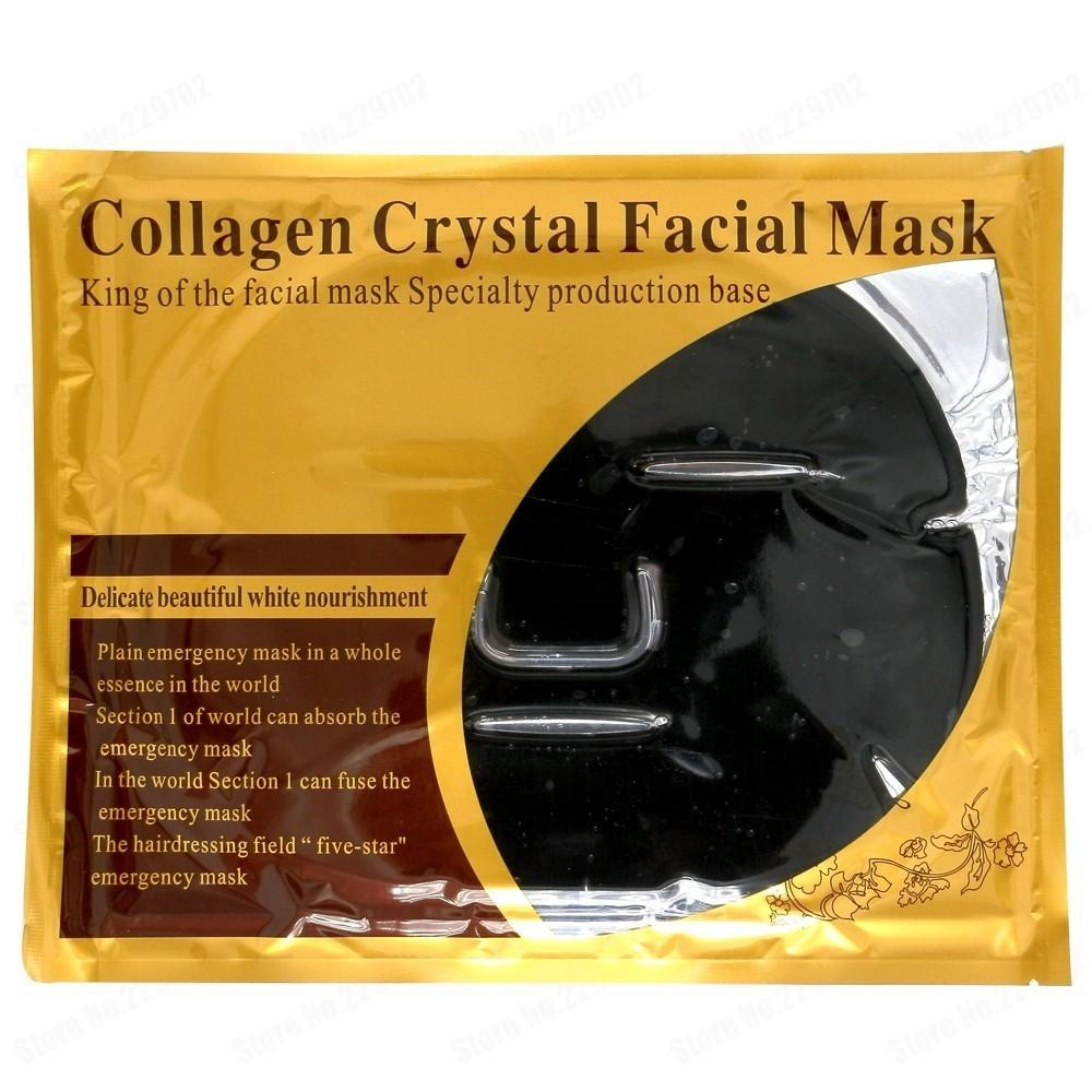 Коллагеновая маска Collagen Crystal Facial Mask (Black) от MELEON