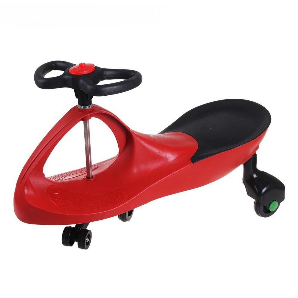Машинка-бибикар Plasmacar (Плазмакар) пластикПодвижные игры<br>Представляем вашему вниманию новую, потрясающую игрушку без педалей, мотора и батареек, которая называется машинка PlasmaCar! Игрушка работает по принципу использования центробежной силы и законов гравитации. Вам же остается только крутить руль влево и вправо, разгоняясь до 10 километров в час.<br>