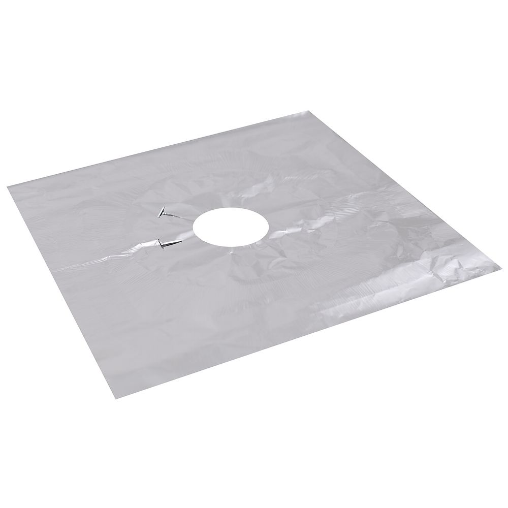 Пластины для защиты кухонной плиты, 4 шт, 25х25 см фото