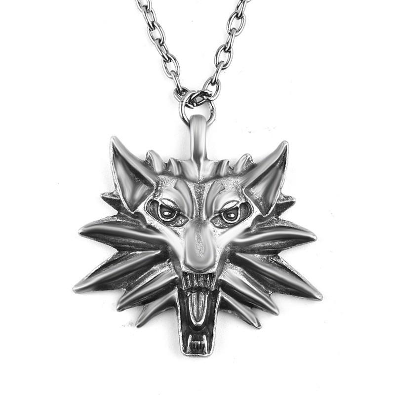 Медальон Ведьмака - Кулон The Witcher, серебро
