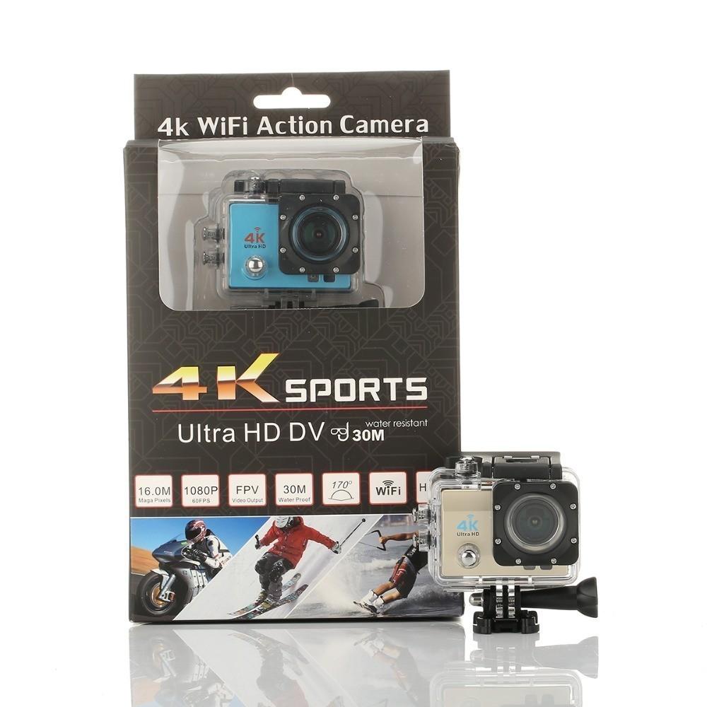 Водонепроницаемая Экшн-камера Ultra HD 4KОстальные гаджеты<br>Вода – это ваша стихия? Не представляете свою жизнь без активных видов спорта? Интернет магазин Мелеон предлагает вам запечатлить все самые важные и отчаянные моменты жизни, благодаря водонепроницаемой экшн-камере Ultra HD 4K!<br>