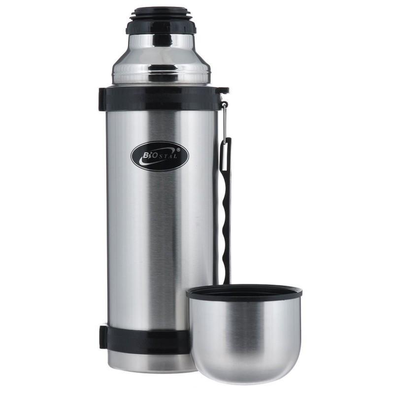 Термос BIOSTAL (1.8 л) ручка с кнопкой. NY-1800-2
