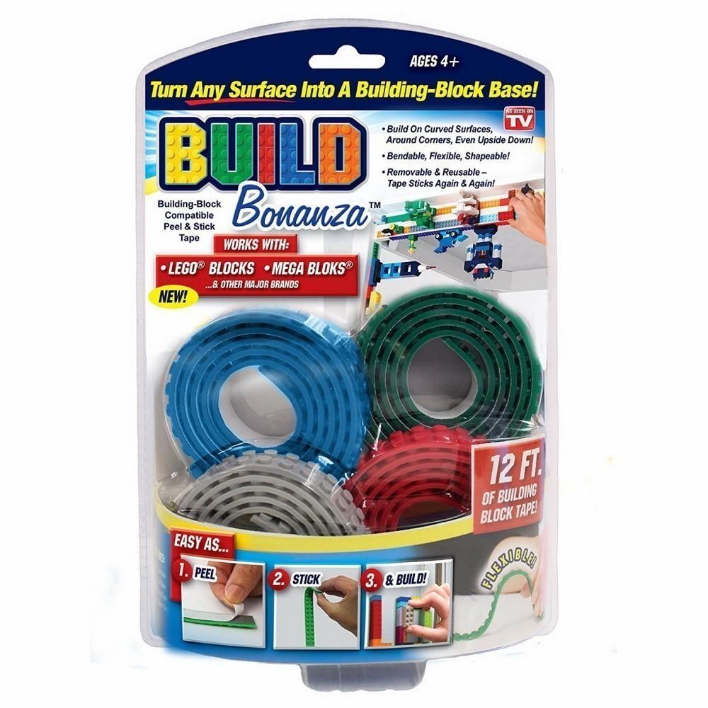 Гибкая Lego-лента Build Bonanza, Развивающие игрушки  - купить со скидкой