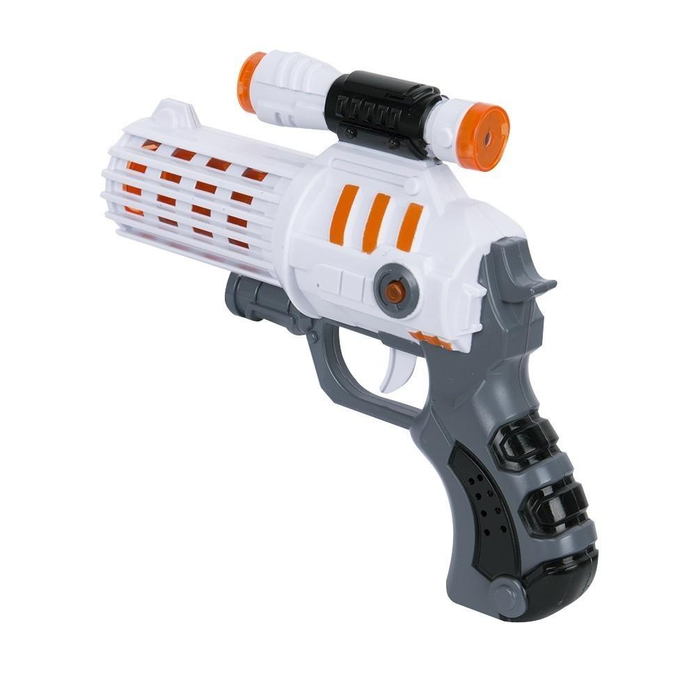 Пистолет дополненной реальности Ar Intelligent Game GunОстальные гаджеты<br>Хотите получать намного больше удовольствия от привычных игр на смартфоне? Если вы являетесь сторонником инновационных технологий, то посмотрите на пистолет дополненной реальности Ar Intelligent Game Gun. С этим аксессуаром вы действительно будете нажимать на курок при стрельбе, а не просто тыкать пальцем по экрану смартфона.<br>