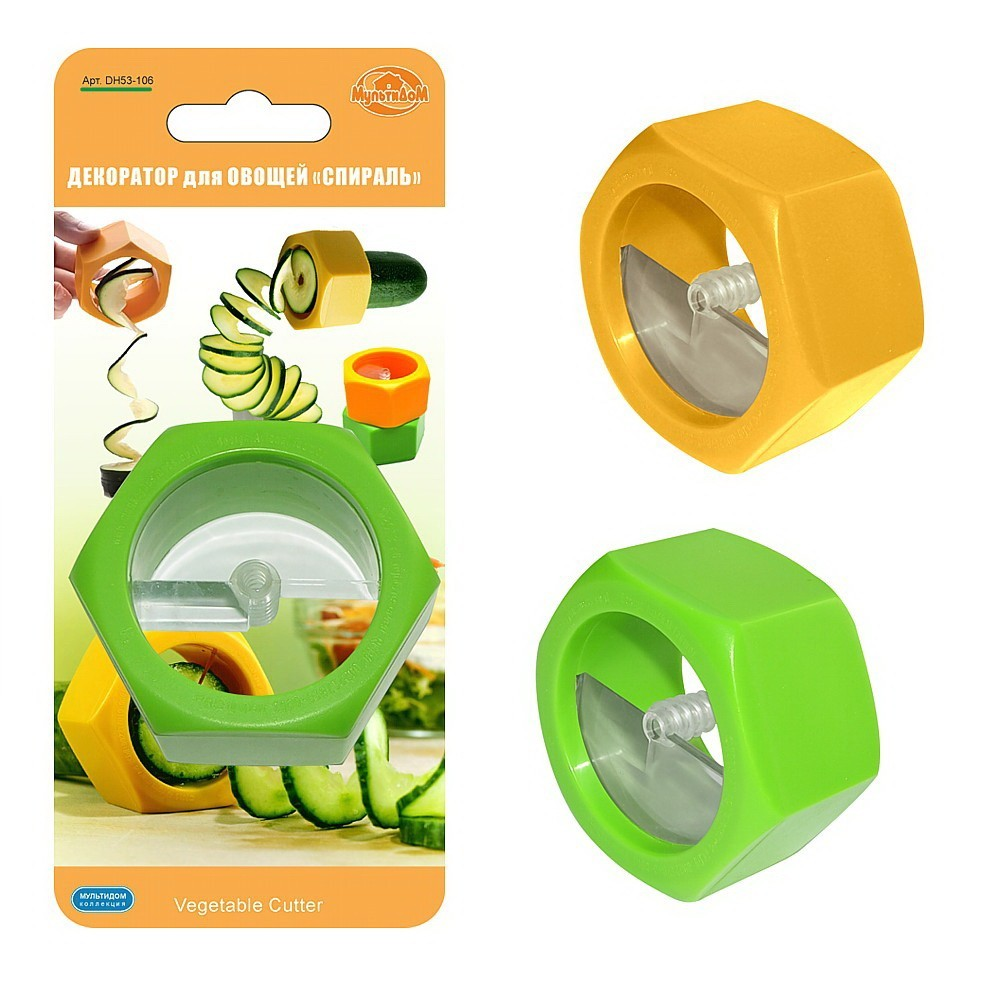 Декоратор для овощей - Спираль...
