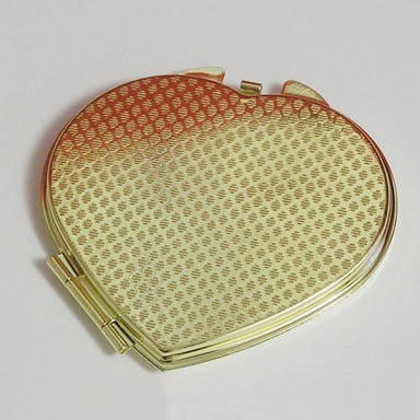 Зеркало «Сердце» - под золото от MELEON
