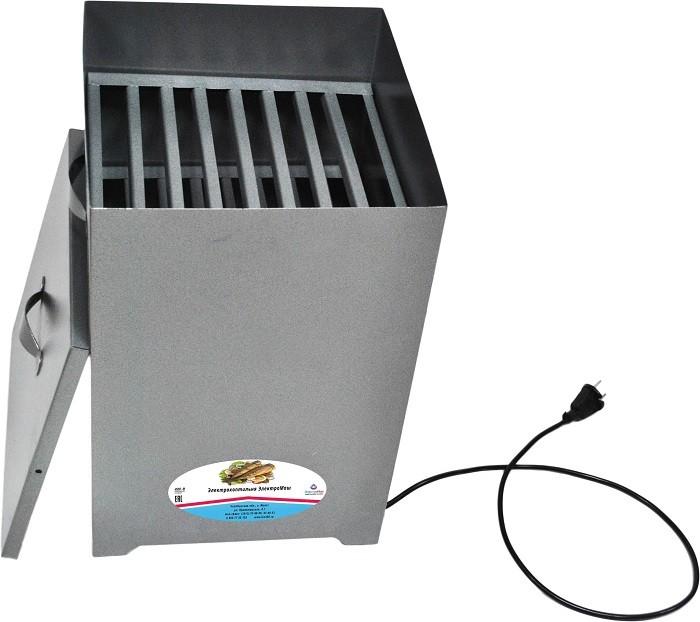 Коптильня электрическая Гринтекс/Электромаш, 750Вт., Двухуровневая. Покрытие (снаружи) порошковое, антик. Защита ТЭНа от капель жира в комплекте. Масса загружаемых продуктов не более 4 кг. Емкость коптильни 36 л. Объем загружаемых опилок не более 1.5 стак
