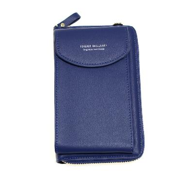 Женский портмоне-сумочка Forever Baellery, синий фото