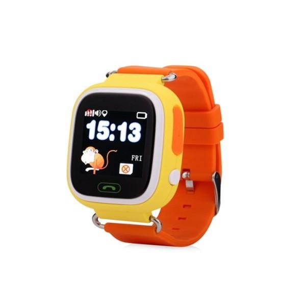 Smart Baby Watch G72 — умные детские часы с GPS, оранжевые