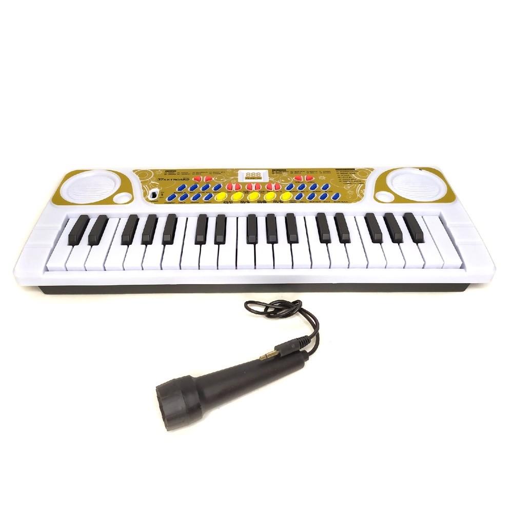 Детский синтезатор с микрофоном KeyBoard