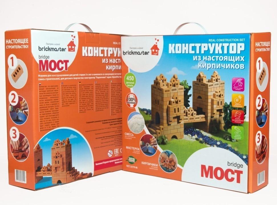 Купить Конструктор Brickmaster - Мост (450 деталей), Конструкторы