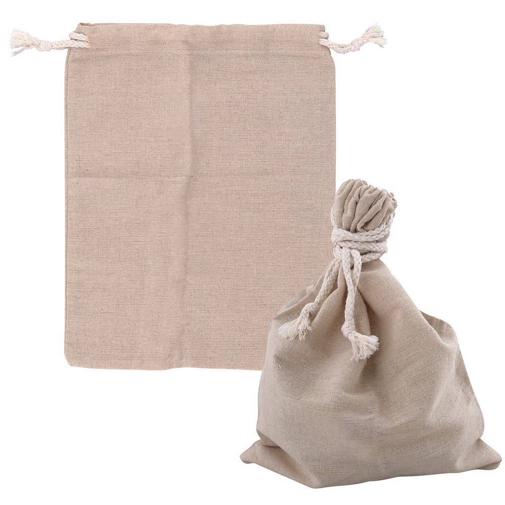 Мешок для хранения пищевой продукции, лён, 25х30 см