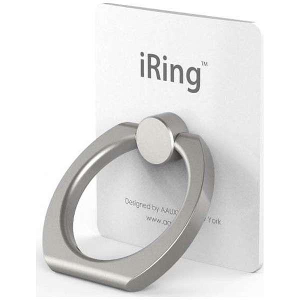 iRing - кольцо держатель для телефона, серебряный