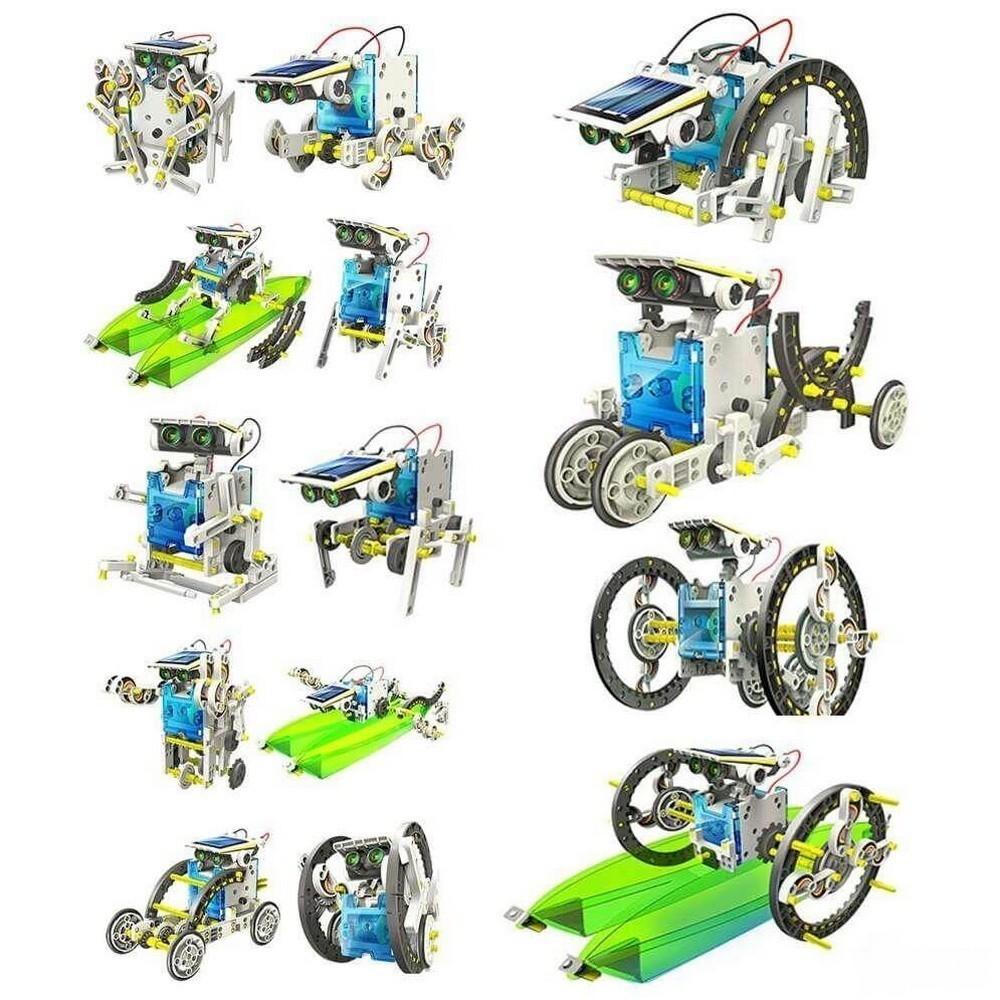 Робот-конструктор на солнечной батарее 14 в 1 от MELEON