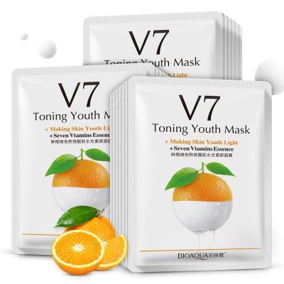 Маска для лица BioAqua - Апельсин с витаминами V7 фото