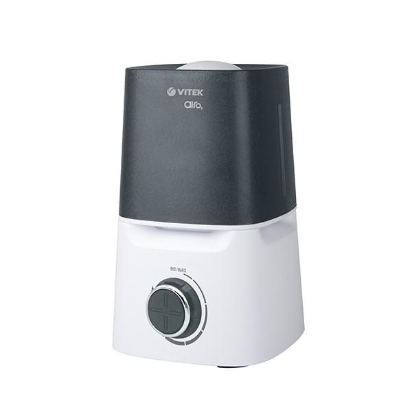 Увлажнитель воздуха Vitek (ультразвук) VT-2334(W)Увлажнители воздуха<br>Увлажнитель VT-2334 W позволит улучшить качество воздуха в помещении. Регулировка интенсивности увлажнения происходит при помощи рычага, который расположен на лицевой части корпуса.<br>