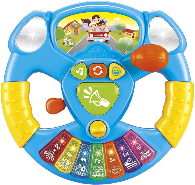 Купить Игрушка серии - Е-нотка, Музыкальный руль, Электронные игрушки