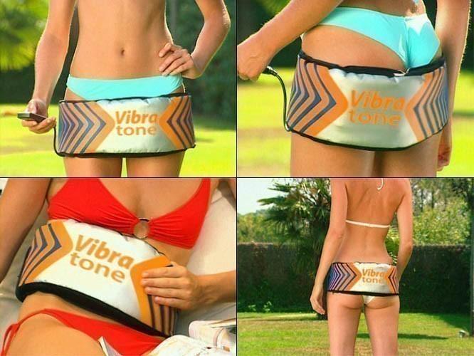 Пояс для похудения Вибротон (Vibra tone)