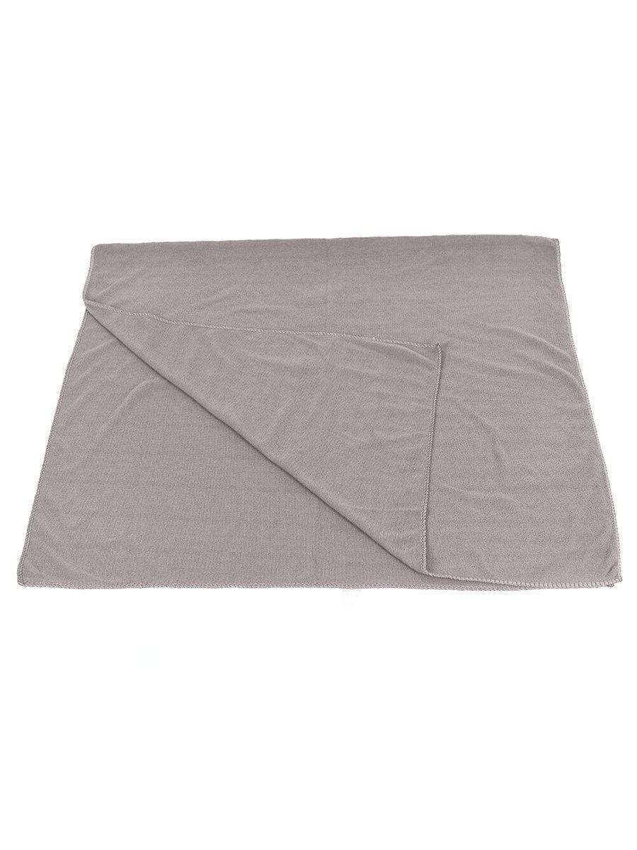 Легкое быстросохнущее полотенце, 80х160 см, серый