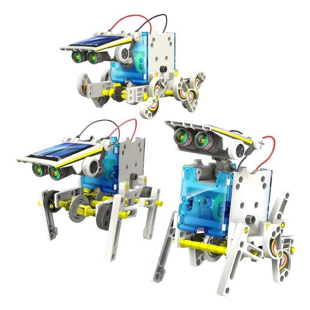 картинка Робот-конструктор на солнечной батарее 14 в 1 от магазина Bebikam.ru
