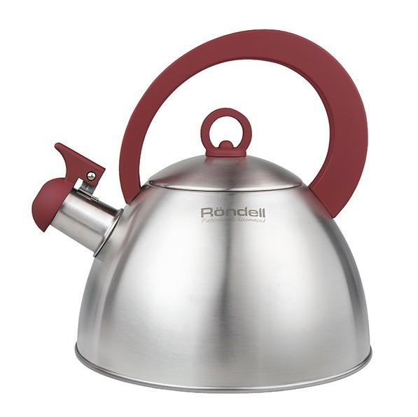 Чайник RONDELL 2,0 л Strike RDS-921Чайники металлические<br>Чайник Rondell RDS-921 Strike выполнен из высококачественной нержавеющей стали 18/10. Прочная бакелитовая ручка с покрытием SoftTouch придает посуде шарм, позволяет руке не скользить и чувствовать себя комфортно во время использования.<br>