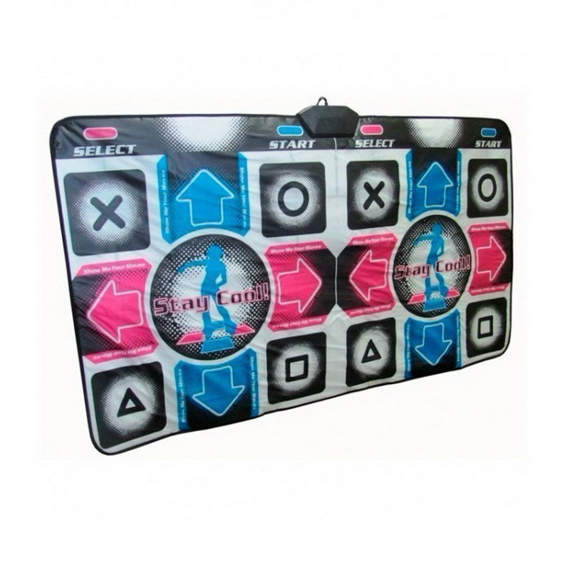 Купить Беспроводной танцевальный коврик для двоих X2 Super Dance, Подвижные игры