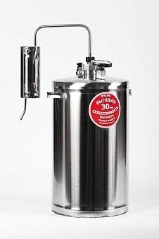 Дистиллятор Первач — Эконом 20Т, домашний 20 л., охладитель, термометр