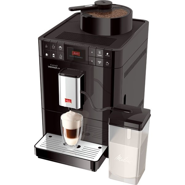Кофемашина Melitta Caffeo Varianza CSP чернаяКофеварки и кофемашины<br>CAFFEO® Varianza® CSP - впервые настолько большое разнообразие кофейных зерен!<br>