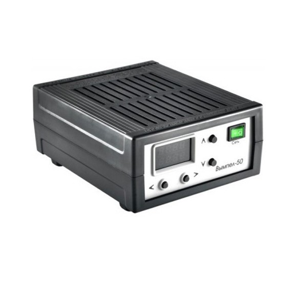 Зарядное устройство Вымпел-50Зарядные для аккумуляторов<br>Регулировать силу зарядного тока и напряжения, заряжать внезапно разрядившиеся приборы, электроинструменты, автомобильную аппаратуру или галогенные лампы вам поможет революционное зарядное устройство Вымпел-50!<br>
