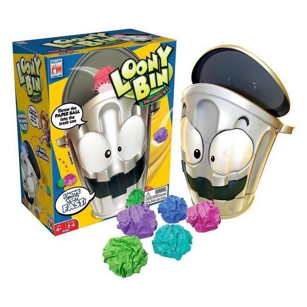 Интерактивная игра Loony Bin (Чокнутое ведро)Настольные игры<br>Ваше чадо никак не научится выбрасывать мусор в нужное место? Ищете по-настоящему оригинальную игру для семейных вечеров? Обязательно обратите внимание на интерактивную игру Loony Bin (Чокнутое Ведро). Такого развлечения вы точно раньше не встречали!<br>
