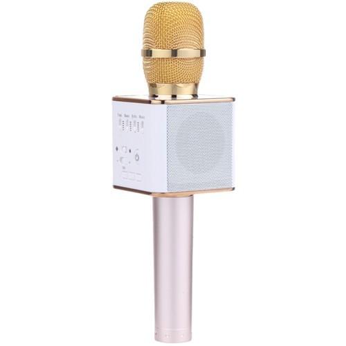 Беспроводной караоке микрофон Tuxun Q9 - GoldОстальные гаджеты<br>Беспроводной караоке микрофон Tuxun Q9 – это настоящий гвоздь программы на любой вечеринке. Благодаря пению, хорошее настроение будет вам обеспечено!<br>