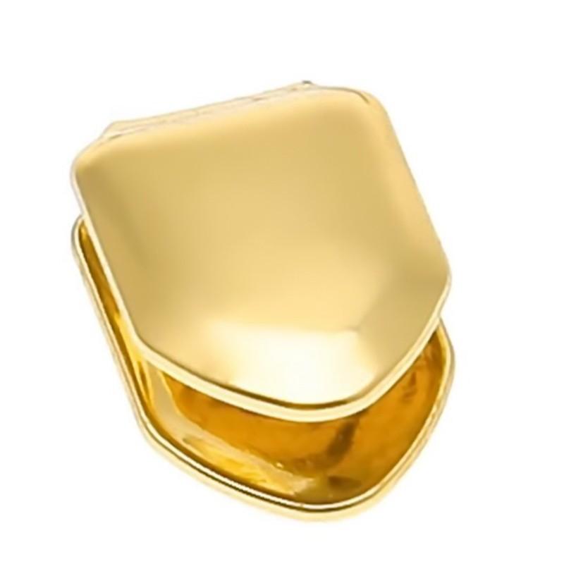 Грилзы, на один зуб, золото