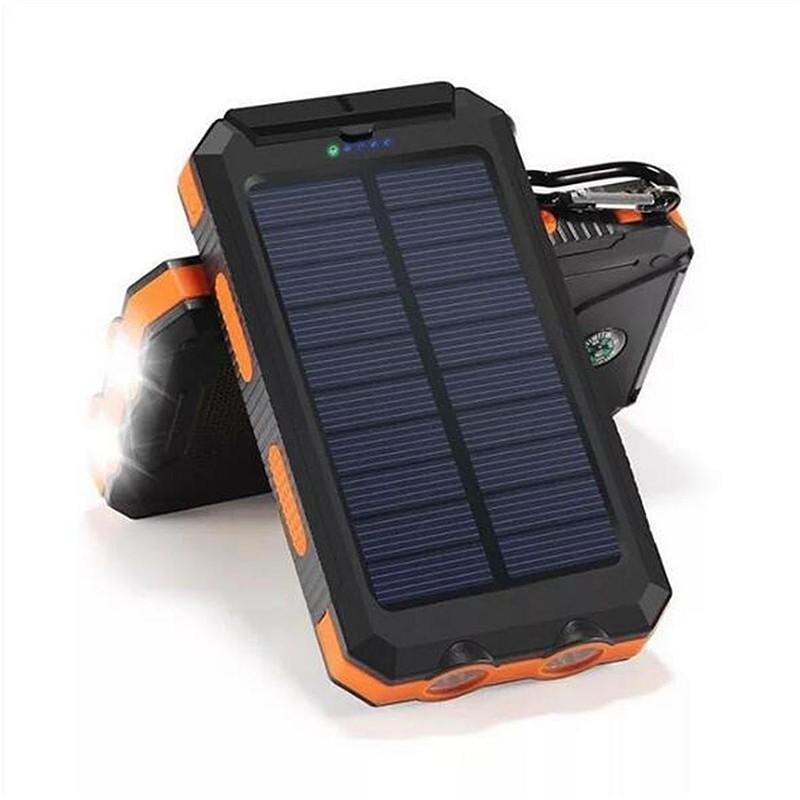 Solar Power Bank 20000 mAh - аккумулятор на солнечной батарее фото