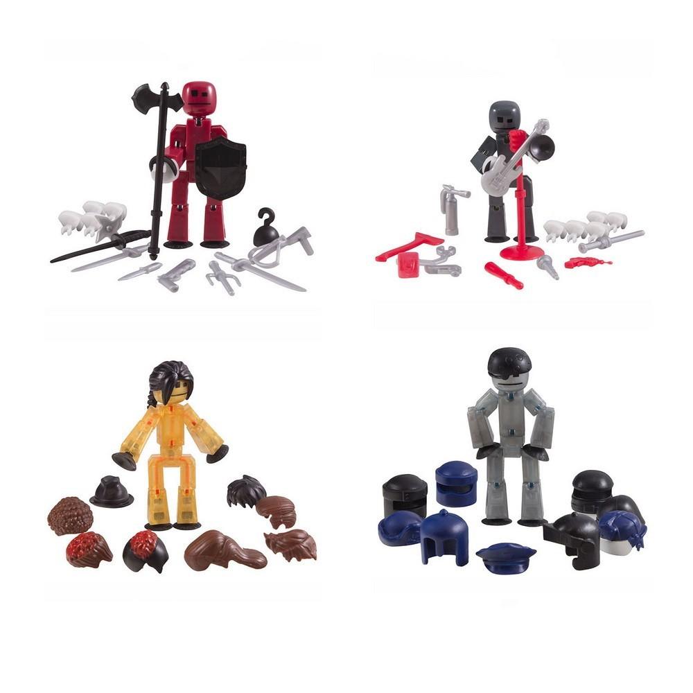 Набор игровой анимационный - Подвижные фигурки с аксессуарами, микс