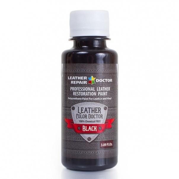Жидкая кожа, полиуретановая — черная, 125 мл