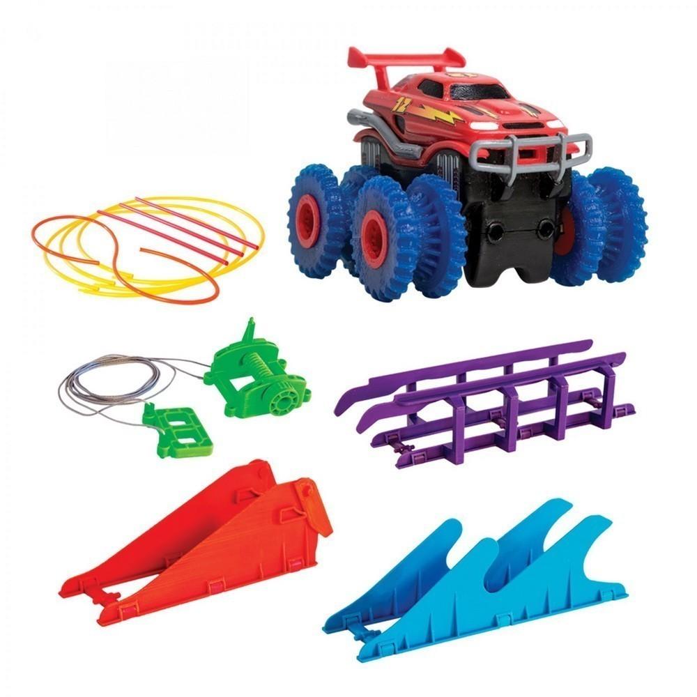 Канатный трек Монстр-трак с одной машинкой Trie Trul, Остальные игрушки  - купить со скидкой