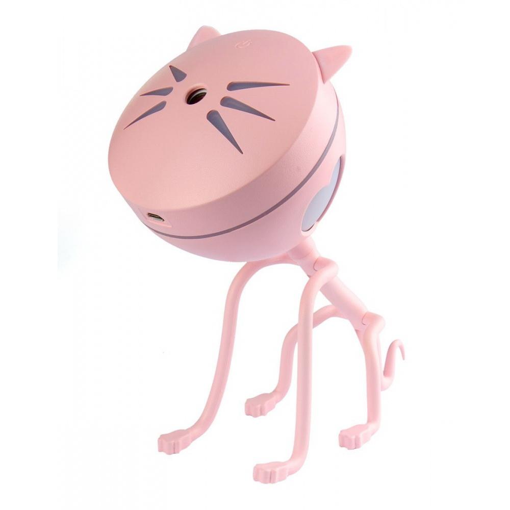 Увлажнитель-ароматизатор воздуха - Котик, розовый