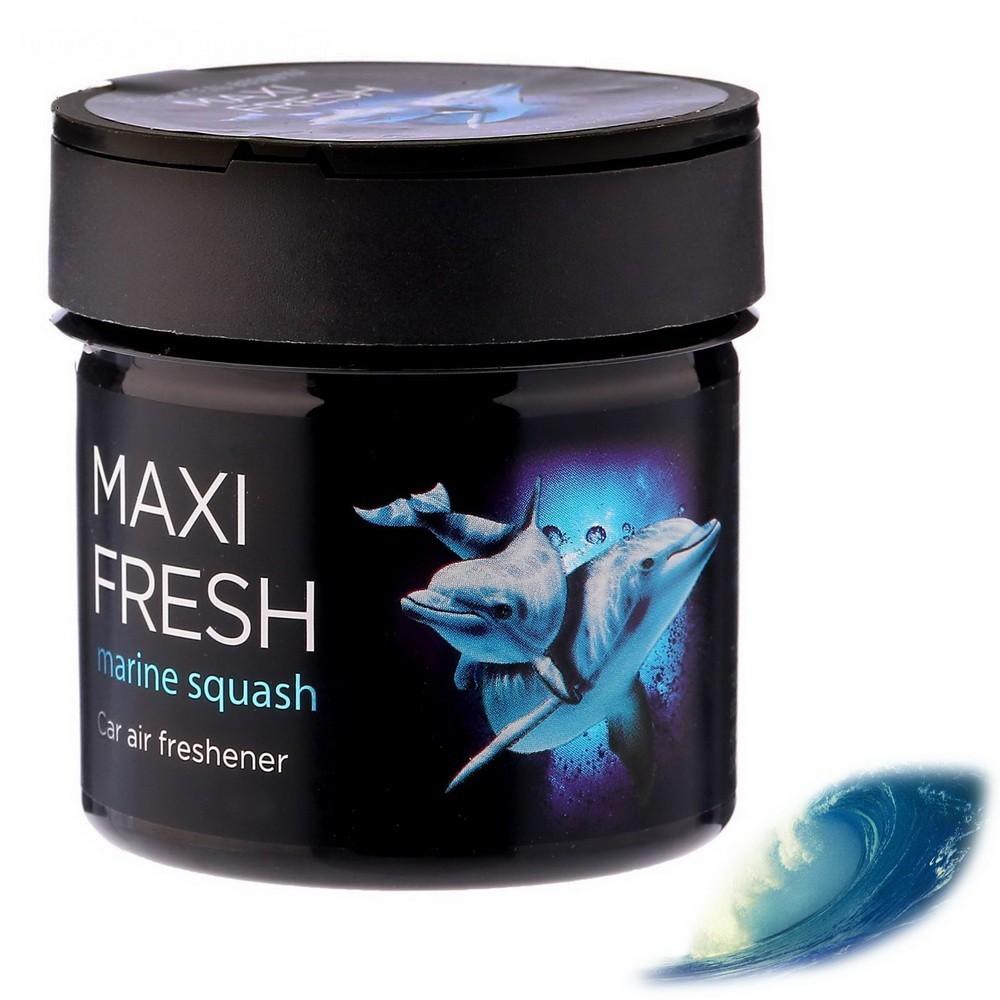 Ароматизатор Maxi Fresh, морской бризОстальное<br>Много времени проводите в салоне автомобиля? Интернет магазин Мелеон знает, что нужно сделать, чтобы воздух внутри всегда оставался свежим и приятным. Ароматизатор в банке «MAXI FRESH»!<br>