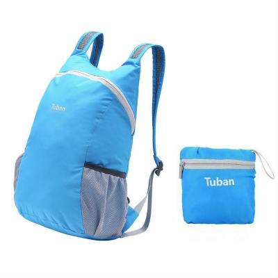 Водонепроницаемый складной тканевый рюкзак Tuban, синий