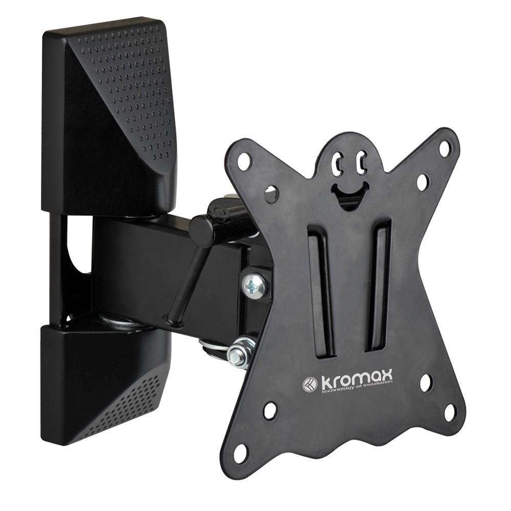Кронштейн kromax 102 CASPERКронштейны<br>Оригинальный наклонно-поворотный кронштейн CASPER-102 идеально подходит для всех LED/LCD телевизоров с диагональю экрана от 10 до 26 дюймов (25-66 см) и весом до 15 кг.<br>