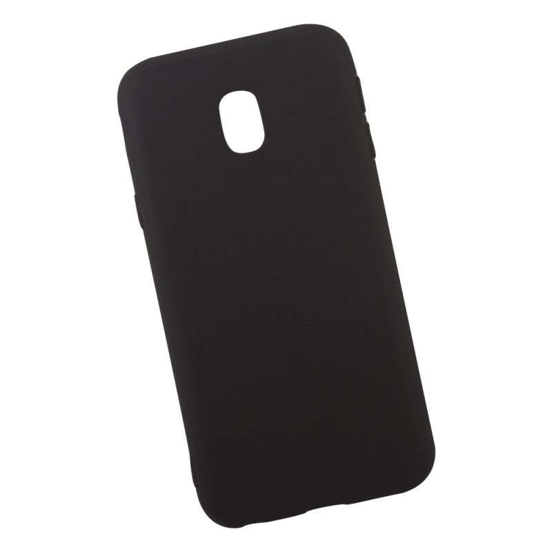 Силиконовый чехол «LP» для Samsung Galaxy J3 2017 TPU (черный непрозрачный) европакет