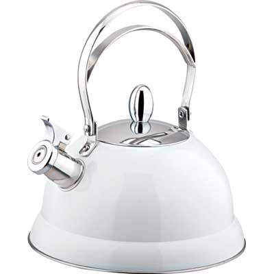 Чайник металлический 2,6л DeLuxe Bekker BK-408SЧайники металлические<br>Всегда мечтали об элегантном чайнике белого цвета? Тогда вы не зря попали на эту страничку! Чайник металлический 2,6л DeLuxe Bekker BK-408S будет радовать вас своим внешним видом и надежностью много лет!<br>