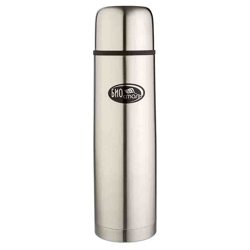 Термос Biostal NB-1000Термосы<br>Термос с узким горлом NВ-1000 ТМ «BIOSTAL» относится к классической серии. Термосы этой серии, являющейся лидером продаж, просты в использовании, экономичны и многофункциональны. Термос предназначен для хранения горячих и холодных напитков (чая, кофе и пр.) и укомплектован двумя пробками (вторая пробка в подарок): пробка без кнопки надежна, проста в использовании и позволяет дольше сохранять тепло благодаря дополнительной теплоизоляции, пробка с кнопкой удобна в использовании и позволяет, не отвинчивая ее, наливать напитки после простого нажатия на кнопку.<br>
