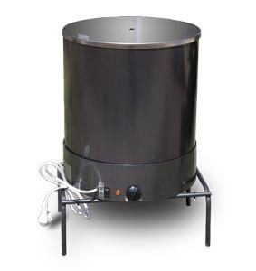 Электрокоптилка ЭКУ Элвин, комбинированная, 750 Вт, обьем 20 л (3 лотка и крышка нержавеющая сталь)