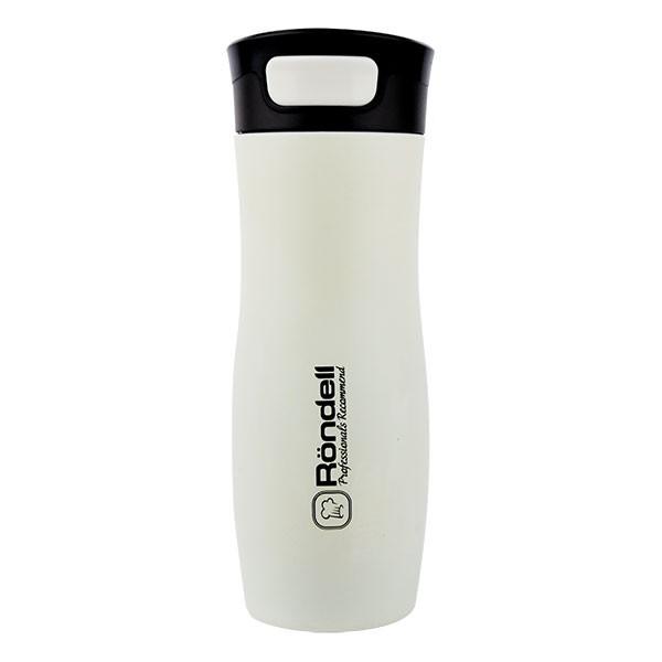 Термокружка 400 мл Latte Rondell RDS-496Термокружки<br>Прикоснитесь к превосходной термокружке RDS - 496 Rondell Latte. Она имеет окраску топленого молока и благородную матовость поверхности.<br>