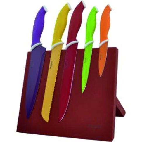 Ножи 6 шт. цветные Winner WR-7329Ножи кухонные<br><br>