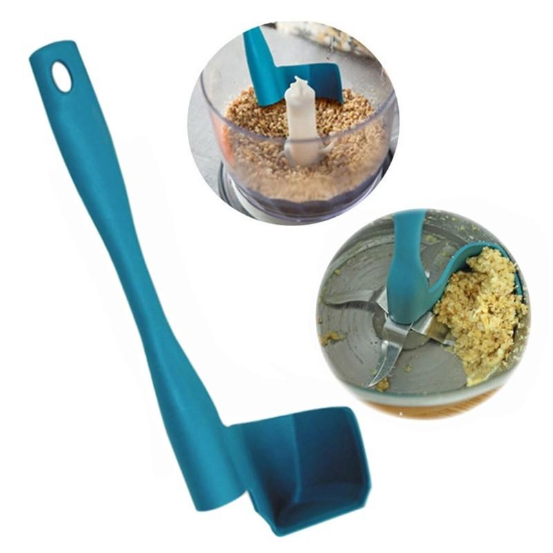 Вращающийся шпатель для кухни, синий