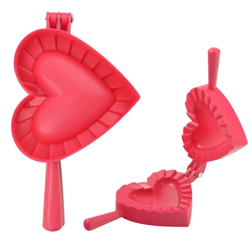 Форма для равиоли и пончиков - Сердце, диаметр 10 см